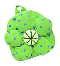 Fashion Infant Knapsack Toddle Backpack Kindergarten School Bag Green Flower