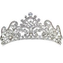 Elegant Diamand Alloy Wedding Hair Comb Crown Headband