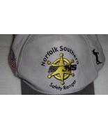 Norfolk Southern Hat Safety Ranger Harriman Awards Gray Yellow Embroidered - $18.80