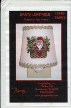 Santa Lightable Christmas Imaginating Cross Stitch Nightlight Kit NEW - $22.47