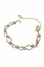 Bracelet en laiton Michal Negrin, cristaux de Swarovski # 100171880009 - $103.76