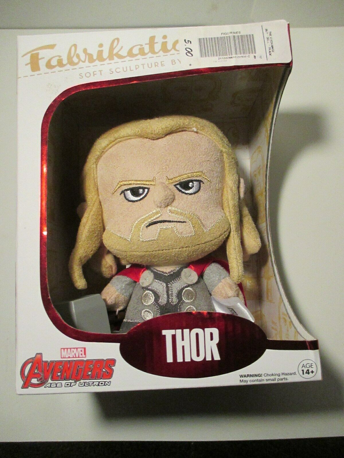 THOR Marvel Avengers Funko Fabrikations Soft Sculpture NEW NIB