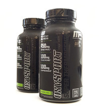MusclePharm OXYSPORT BLACK 120 capsules - Manage Appetite Hydoxycut Fat Burner   - $26.30