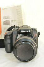 Sony Alpha a100 10.2MP Digital SLR Camera - Black (Kit w/ DT 18-70mm Lens) image 4