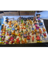 Huge Lot of Vintage & Modern Toys Disney 60 Pieces - $29.39