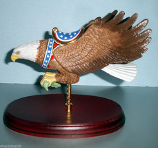 Lenox Eagle Carousel Figurine Hand Painted Wood Base 851378 New - $94.90