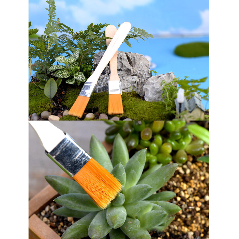 Succulent Transplanting Tools 8pcs Mini Garden Hand Planting Set Tweezer Shovel