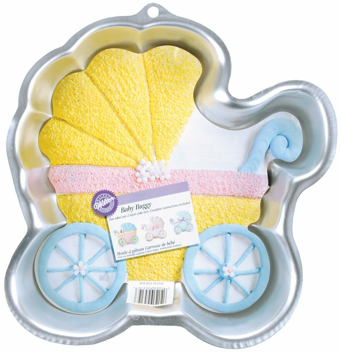 Primary image for Wilton Baby Buggy Cake Pan (2105-3319 2005)