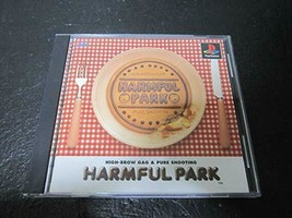 HARMFUL PARK PS1 Playstation Pure Shooting Game Soft High Brow Gag F/S g... - $643.38