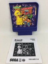 Pico Sega Game Cartridge Sesame Street Alphabet Avenue 1994 Vintage 90s ... - $19.75