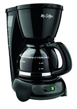 Mr. Coffee 4-Cup Switch Coffee Maker with Gold Tone Filter, Black - €31,56 EUR