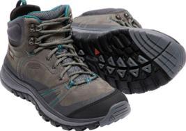 Keen Terradora Mid Sz 7 M (B) EU 37.5 Women's WP Trail Hiking Boots Gray 1017750