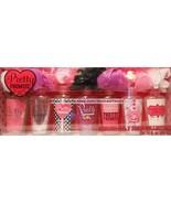 PRETTY PROMISE 14pc Shower Gel+Sponge Set Coconut+Berry Kiss+Vanilla Fro... - $15.14