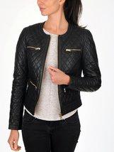Women's New Lambskin Leather Bomber Motorcycle Jacket - $119.00