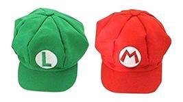 Luckystone Super Role Play Bros Hat, Mario Luigi Cap Cosplay - $37.99