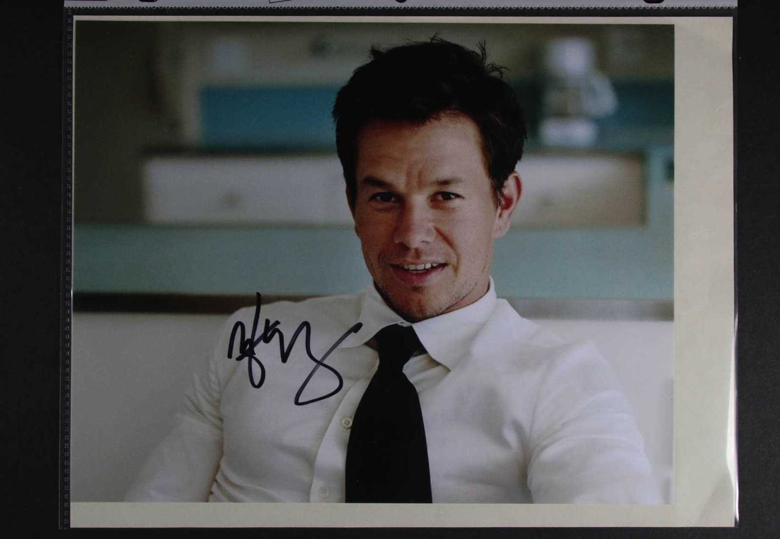 Primary image for Mark Wahlberg Signed Autographed Glossy 8x10 Photo