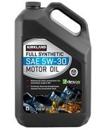 Kirkland Signature 5W-30 Full Synthetic Motor Oil One Bottle of 5-quart QT - $19.25