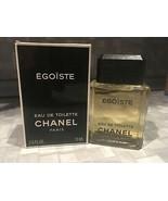 RARE Chanel Egoiste 2.5oz/ 75ml vintage & original formulation  - $143.55