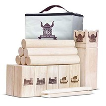 GoSports Regulation Kubb Viking Clash Toss Game Set for Kids & Adults - $67.81
