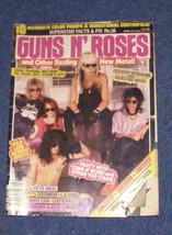 Guns N Roses & other metal bands 1988 mag - $19.99