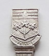 Collector Souvenir Spoon Canada Ontario Toronto Coat of Arms Embossed Em... - $4.99
