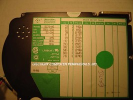 77MB 3.5IN HH ESDI DRIVE MICROSCIENCE 5070-00 Free USA Ship Our Drives Work - $44.95