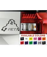 Skoda Yeti Happy Yeti Vinyl Sticker Decal, Car Decal Skoda Yeti Fit All ... - $6.11