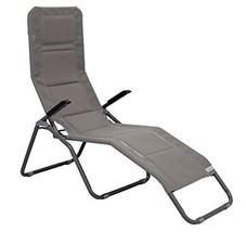 Meerweh Aluminium Gartenliege extra Hoch Sitzhöhe ca. 43 cm Bäderliege - $173.98