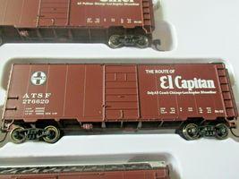 Walthers  Mainline # 910-51402 Santa Fe Slogan PS-1 40' Boxcars (4-PK)  HO-Scale image 4