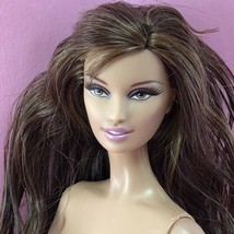 Barbie Basics Collection 001 Model 02 Nude Lara Face Brunette Muse Doll - $27.00