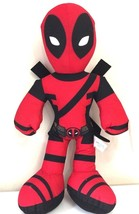 """NEW Large Deadpool Plush 14"""" Marvel Collectible. Licensed Toy. USA - $14.99"""