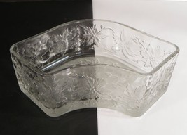 Princess House FANTASIA Glass Corner Section ONLY for Divided Chip and D... - $15.79