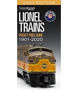 Lionel Trains Pocket Price Guide 1901-2020 - $25.07