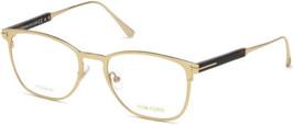Authentic Tom Ford Eyeglasses TF5483 028 Shiny Rose Gold Frames 52MM Rx-... - $219.18