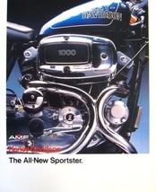 1978 1979 Harley Davidson Sportster Brochure, XLH XLCH 1000 Original - $12.60