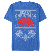 Lost Gods Beary Christmas Mens Graphic T Shirt - $10.99