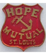 FIRE MARK: Hope Mutual Fire Insurance Company of St. Louis Plaque- SIGN/... - $84.14
