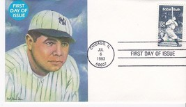 BABE RUTH #2046 CHICAGO, IL JULY 6, 1983 TCMA CACHET D-1142 - ₹228.14 INR