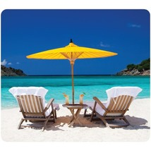 Fellowes(R) 5916301 Recycled Mouse Pad (Caribbean Beach) - $25.30
