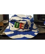 ORDER OF EASTERN STAR BLUE WHITE Bucket Hat OES Camouflage Bucket Hat - $19.60