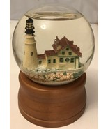 L.L. Bean Snow Globe Light House midwest of cannon falls water globe  - $14.03