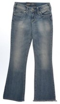 Silver Jeans Co. Suki Mid Rise Bootcut size 25 waist Jean Curvy Fit Ligh... - $35.49