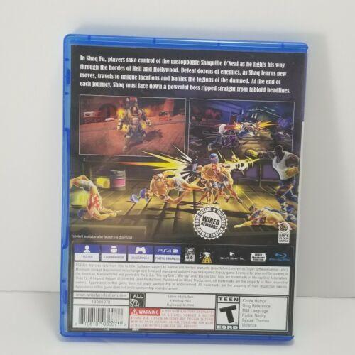 Shaq Fu: A Legend Reborn PS4 Video Game image 4