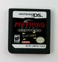 DS Metroid Prime: Hunters-First Hunt (Nintendo DS, 2004) Cartridge Only ... - $8.95