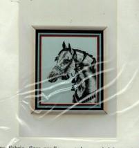 Vintage Pegasus Originals Counted Cross Stitch Kit Arabian Horse Head St... - $25.78