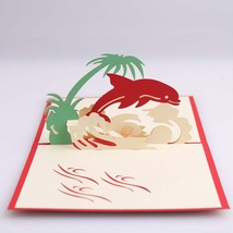 Dolphin--3D Greeting Card, Pop Up Card, Pop Out Card - $4.50