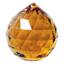 Swarovksi Crystal Faceted Ball Prism image 9