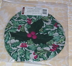 Longaberger Joyful Chorus Basket Lid COVER ~ American Holly - $10.72