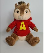 Build a Bear Alvin the Chipmunk Stuffed Animal Plush in Red Hoodie - $17.81