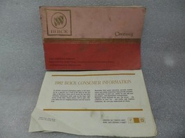 BUICK CENTURY   1982 Owners Manual with Consumer Info Sheet 14718 - $13.85